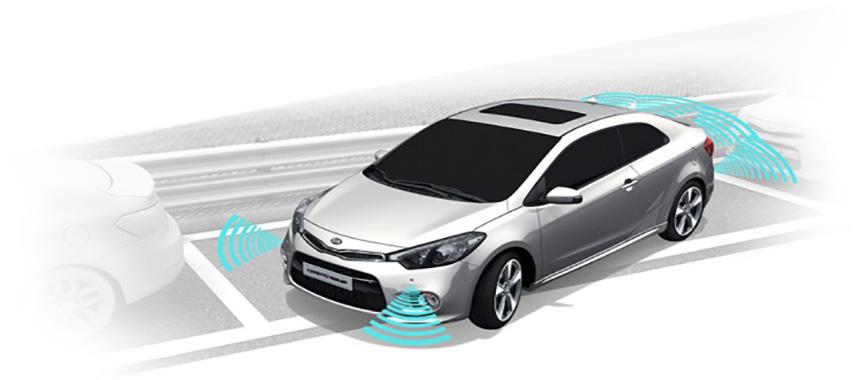 سنسور دنده جلو در خودرو