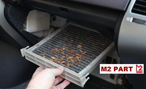 محل قرار گرفتن فیلتر کابین خودرو