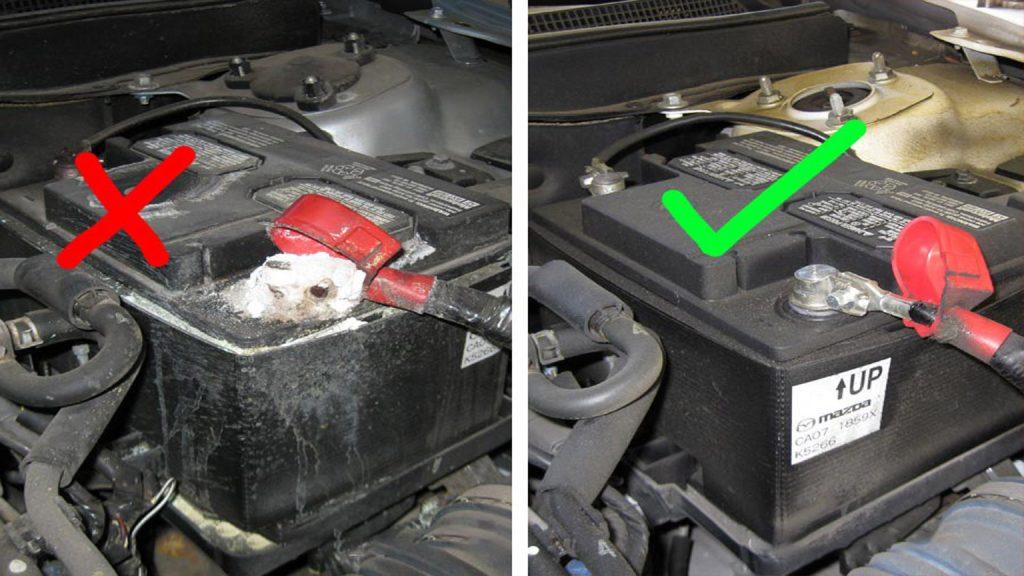 خرابی باتری خودرو